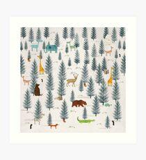little nature Art Print