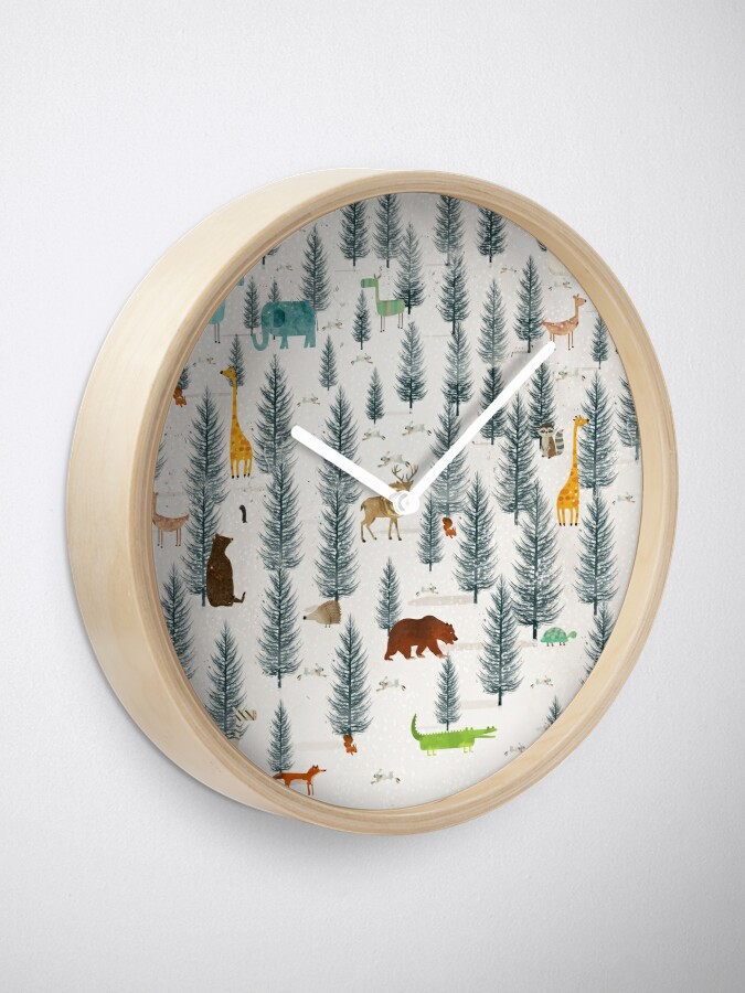 Vista alternativa de Reloj poca naturaleza
