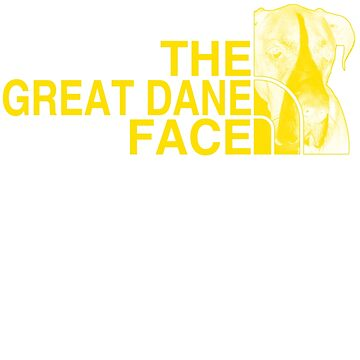 The Great Dane Face by Libus1996