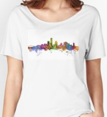Milwaukee Wisconsin Skyline Women's Relaxed Fit T-Shirt