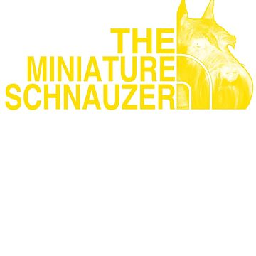 The Miniature Schnauzer Face by Libus1996