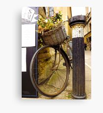 Old Timey Bike Oxford Canvas Print