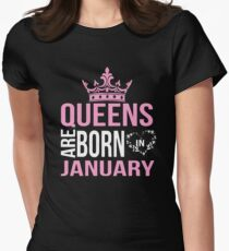 Queens are born in January T-shirt T-Shirt