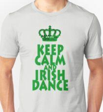 KEEP CALM and IRISH DANCE T-Shirt Unisex T-Shirt