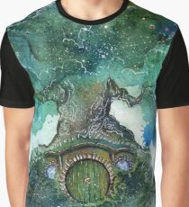 Old Oak Tree Graphic T-Shirt