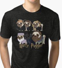 Harry Pugger Tri-blend T-Shirt