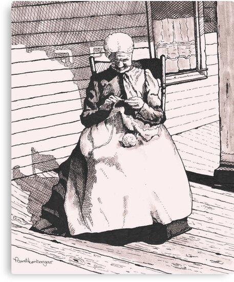 Grandmother Elizabeth by Pam Humbargar