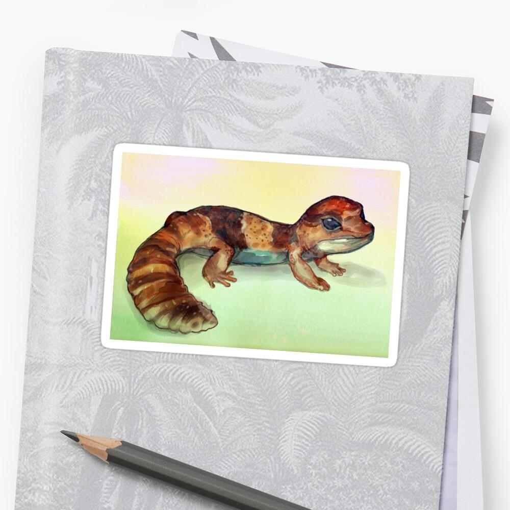 Fat Tailed Gecko by ButtercupSaiyan