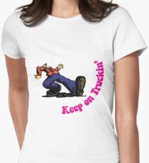 Keep on Truckin' Women's Fitted T-Shirt