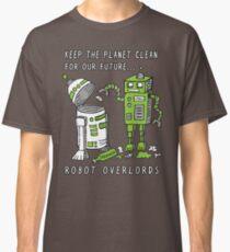 Robot Earth Classic T-Shirt