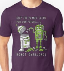 Robot Earth Unisex T-Shirt