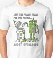Robot Earth Unisex T-Shirt