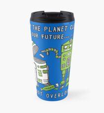 Robot Earth Travel Mug