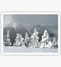 Banff Christmas Sticker