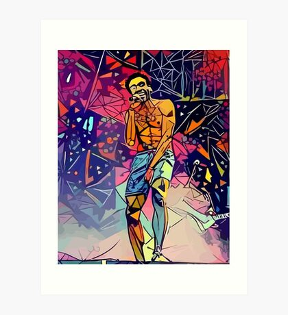 Gambino Abstract  Art Print