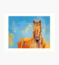 Obedient Spirit - Horse portrait Art Print
