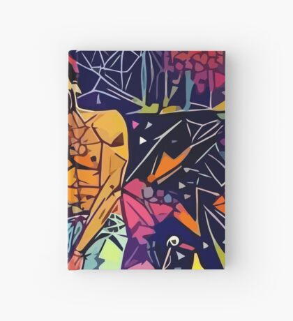 Gambino Abstract  Hardcover Journal