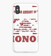 For an Amount of Honor T-Shirt iPhone Case/Skin