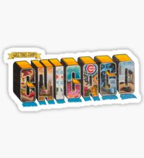 Greetings From Chicago Sticker