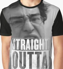 Straight Outta The Rice Fields Graphic T-Shirt