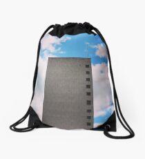 Tower block Drawstring Bag