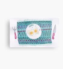 Eggs for breakfast Metal Print