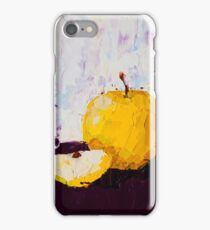 Shimmering Yellow Apple iPhone Case/Skin