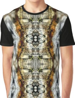 Abstract Blur Design Graphic T-Shirt
