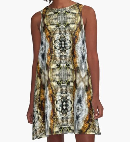 Abstract Blur Design A-Line Dress