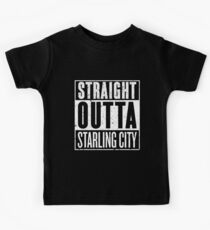 Straight Outta Starling City Kids Tee