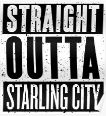 Straight Outta Starling City Poster