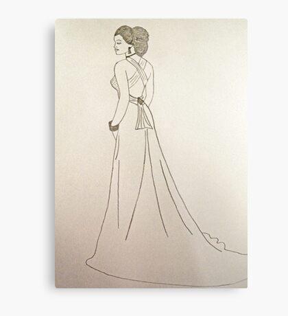 Wedding Dress No 4 Metal Print