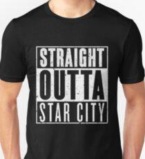 Straight Outta Star City Slim Fit T-Shirt
