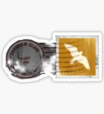 Cairnholm Island - Miss Peregrines Home For Peculiar Children Sticker