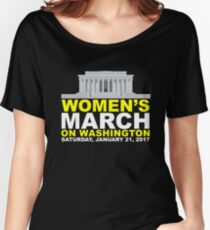 Women's March on Washington Women's Relaxed Fit T-Shirt