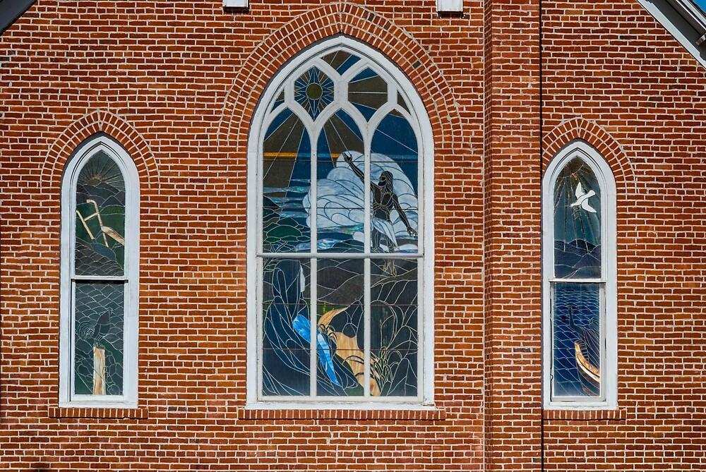 Bethel United Methodist Church, Sheridan Montana  by Bryan D. Spellman
