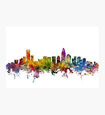 Charlotte North Carolina Skyline Photographic Print