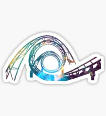 Space Coaster Sticker