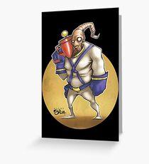 Earth Worm Jim Greeting Card