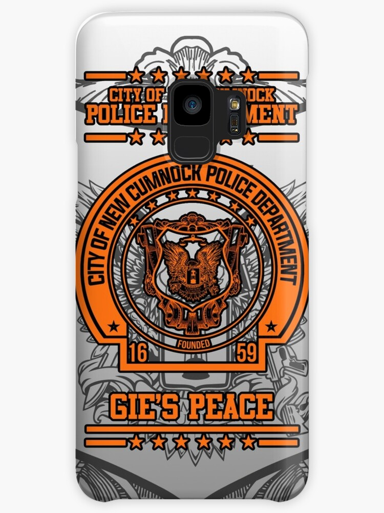 """NCPD """"Gie's Peace"""" Motto White/Orange by OctoberFifteen"""