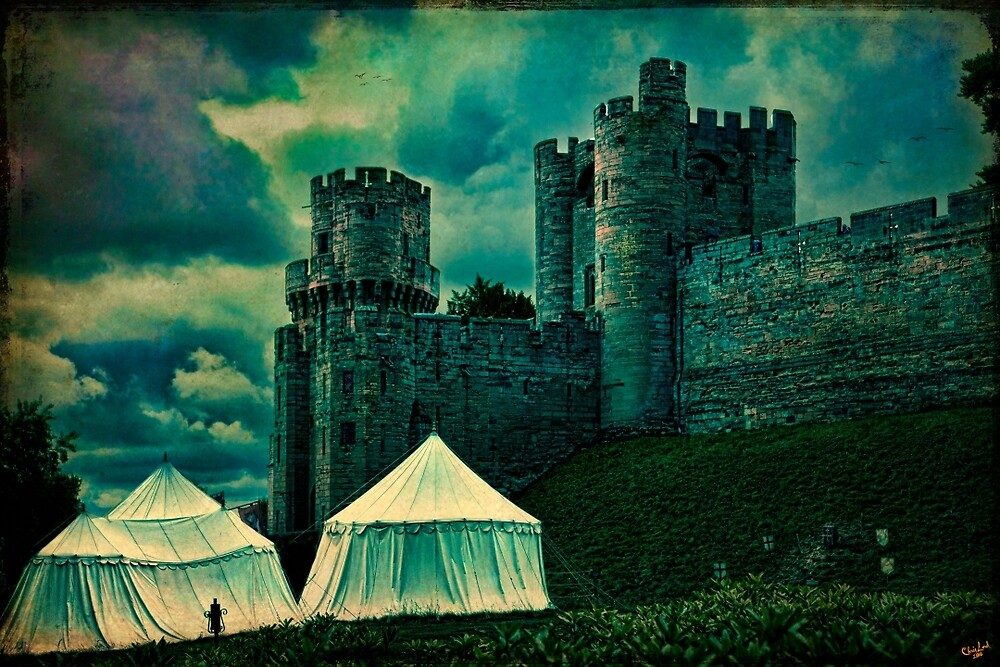 The Gatehouse Tower, Warwick Castle, England by Chris Lord