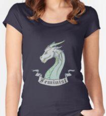 FEMINIST - Light Dragon Women's Fitted Scoop T-Shirt