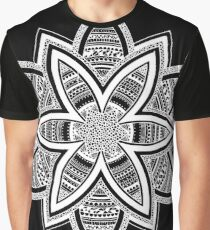 Wholness black and white mandala Graphic T-Shirt