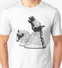 The Kelpies (Black and White) Unisex T-Shirt