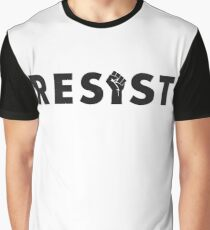 Resist (Fist) Graphic T-Shirt