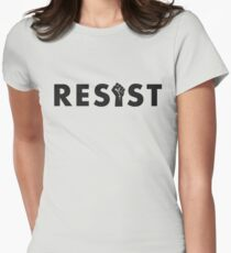 Resist (Fist) Women's Fitted T-Shirt