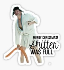 Cousin Eddie: Merry Christmas Sticker