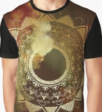 Wothy of all golden mandala Graphic T-Shirt