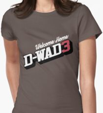 Welcome Home D-Wade Womens Fitted T-Shirt