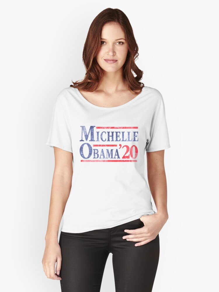 Michelle Obama 2020 Election  Women's Relaxed Fit T-Shirt Front